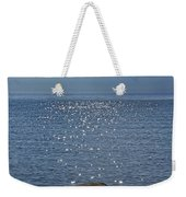 Sunlight Sparkling On The Water At Sturgeon Point Weekender Tote Bag