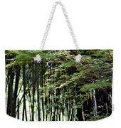 Sunlit Bamboo Weekender Tote Bag