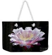 Sunlit Cactus Flower Weekender Tote Bag