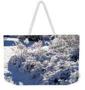 Sunlit Snowy Sanctuary Weekender Tote Bag
