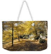 Sunny Day In The Autumn Park Weekender Tote Bag