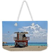 Sunny Day Miami Beach Weekender Tote Bag