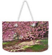 Sunny Patch Under The Cherry Trees Weekender Tote Bag