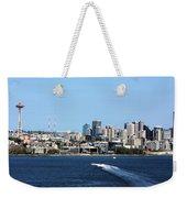 Sunny Seattle Weekender Tote Bag