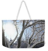 Sunny Snow Day 1 Weekender Tote Bag