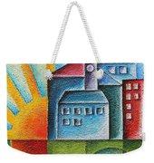 Sunny Town Weekender Tote Bag by Jutta Maria Pusl
