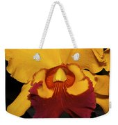 Sunny Yellow Orchid Weekender Tote Bag