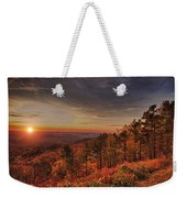 Sunrise 2-talimena Scenic Drive Arkansas Weekender Tote Bag by Douglas Barnard