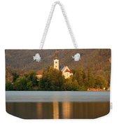 Sunrise Across Lake Bled Weekender Tote Bag