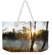 Sunrise Across The Mississippi Weekender Tote Bag