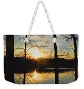 Sunrise Along The Delaware River Weekender Tote Bag