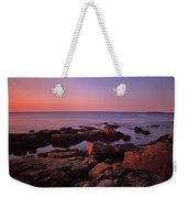 Sunrise At Otter Point Weekender Tote Bag