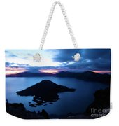 Sunrise At The Crater Weekender Tote Bag