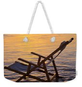 Sunrise Beach Lounging Weekender Tote Bag