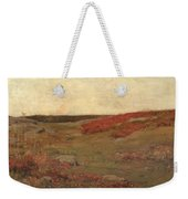 Sunrise In Autumn Weekender Tote Bag