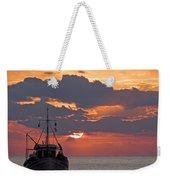 Sunrise In Crete Weekender Tote Bag