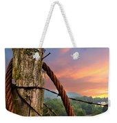 Sunrise Lasso Weekender Tote Bag