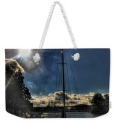 Sunrise Moon Dance Weekender Tote Bag