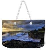 Sunrise Near Hilo Hawaii Weekender Tote Bag