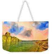 Sunrise On Lake Powell Weekender Tote Bag