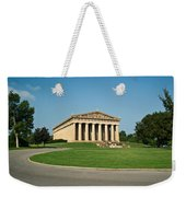 Sunrise On The Parthenon Weekender Tote Bag