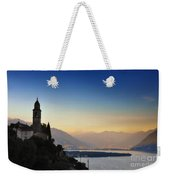 Sunrise Over An Alpine Lake Weekender Tote Bag