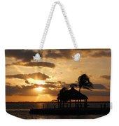 Sunrise Over Bay Weekender Tote Bag