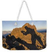 Sunrise Over Death Valley From Dantes Weekender Tote Bag