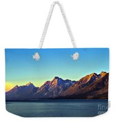 Sunrise Over Jackson Lake Weekender Tote Bag