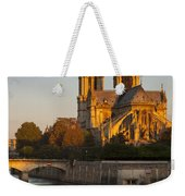 Sunrise Over Notre Dame Weekender Tote Bag