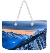 Sunrise Over The Rockies Weekender Tote Bag