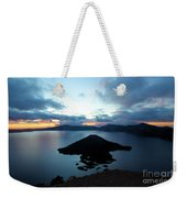 Sunrise Over The Wizard Weekender Tote Bag