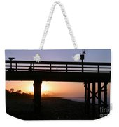 Sunrise Pier Ventura Weekender Tote Bag by Henrik Lehnerer