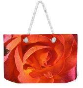 Sunrise Rose Weekender Tote Bag