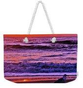 Sunrise Sea And Seagull Weekender Tote Bag