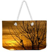 Sunrise Song Weekender Tote Bag