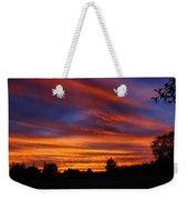 Sunset 2   09 22 12 Weekender Tote Bag