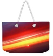 Sunset Above The Clouds Weekender Tote Bag