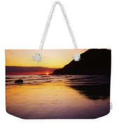 Sunset And Sea Weekender Tote Bag