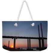 Sunset At Dartford Bridge Weekender Tote Bag