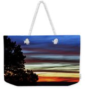 Sunset At Desert View Along The Grand Canyon Weekender Tote Bag