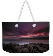 Sunset At Otter Point Weekender Tote Bag