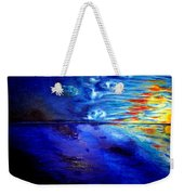 Sunset At Sea By Ted Jec. Weekender Tote Bag