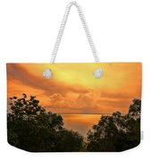 Sunset At The Esplanade Weekender Tote Bag