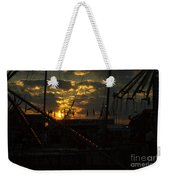 Sunset At The Georgia State Fair Weekender Tote Bag