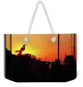 Sunset At The Granary Weekender Tote Bag