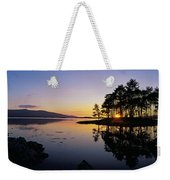 Sunset At The Lake, Kenmare, Ring Of Weekender Tote Bag