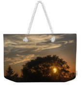 Sunset At The Oasis Weekender Tote Bag by Joan Carroll