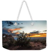 Sunset At Turrent Arch Weekender Tote Bag