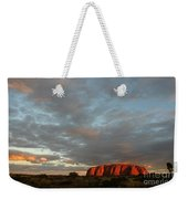 Sunset At Uluru Weekender Tote Bag